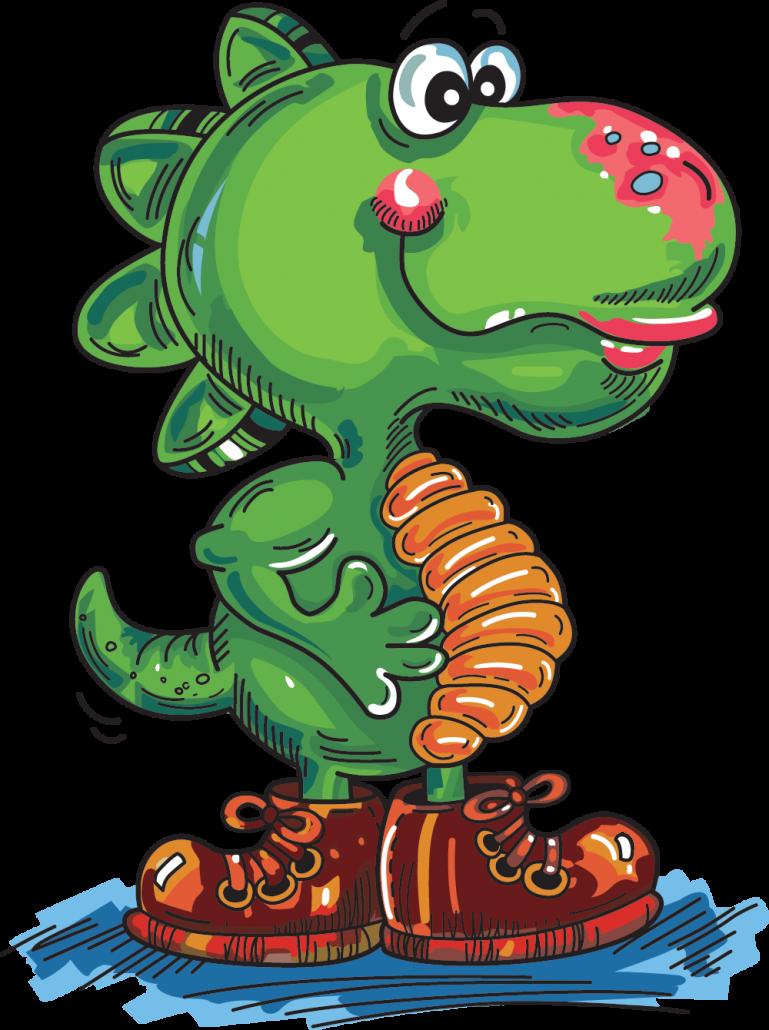 Buzzy's Dino Logo
